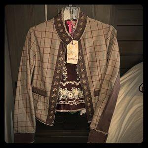 NWT - VINTAGE Buffalo jacket/blazer